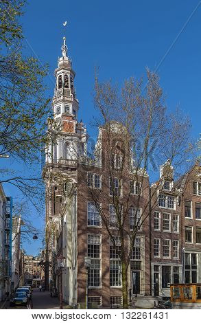 The Zuiderkerk (southern church) is a 17th-century Protestant church in the Nieuwmarkt area of Amsterdam the capital of the Netherlands.