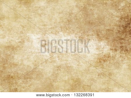 Aging grunge paper background for the design.
