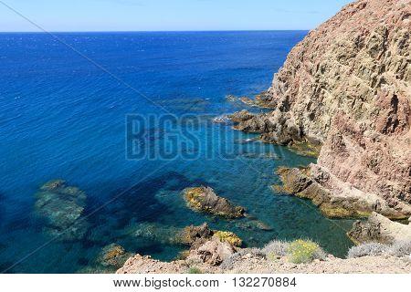 NATURAL RESERVE ( PARK) OF CABO DE GATA -NIJAR, SAN JOSE, ALMERIA, ANDALUSIA , SPAIN