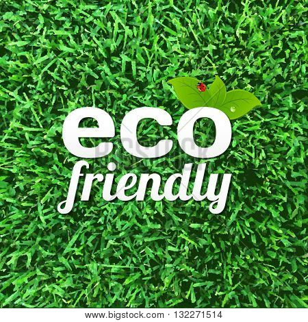 Eco Friendly Poster