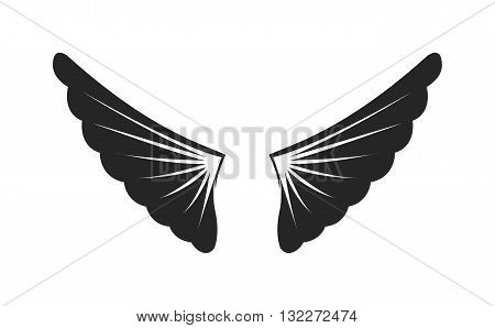 Wings siilhouette design. Elements wings siilhouette for design and element design angel black wings siilhouette. Graphic animal abstract wings siilhouette and tattoo fantasy wings siilhouette.
