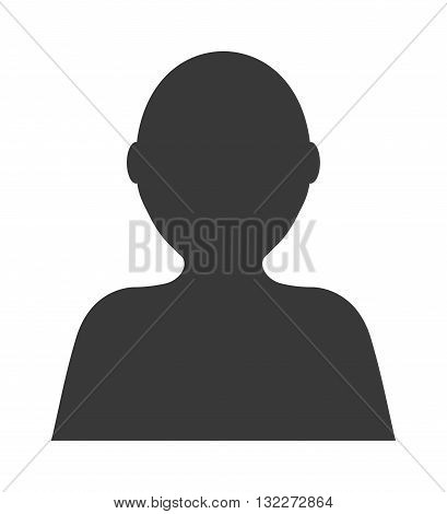 Unknown person vector. Female person silhouette. Unknown person protest looking people black anonymous and portrait face unknown person. Unknown person unnamed incognito human business male.