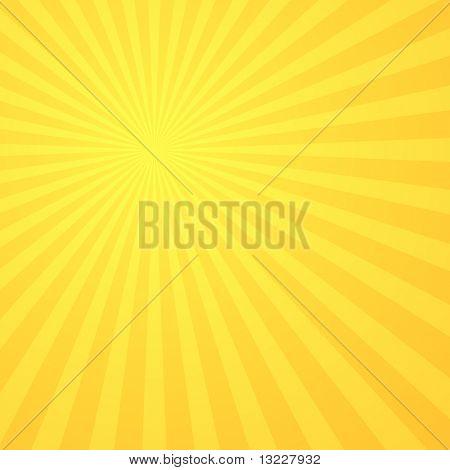 Abstrato Sunburst