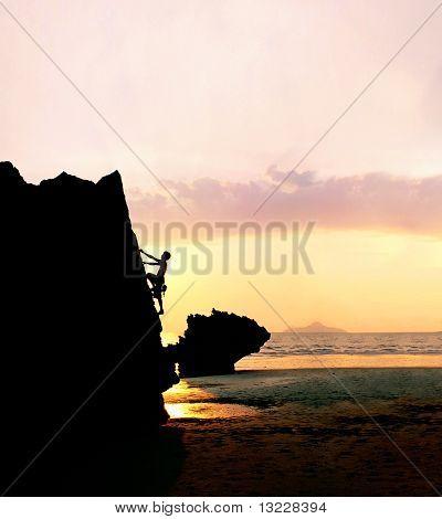 Escalada em rocha