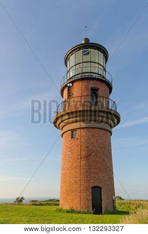 Gay Head lighthouse in Martha's Vineyard Massachusetts.