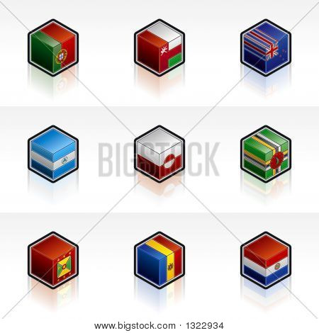 Flag Icons Set - Design Elements 56U