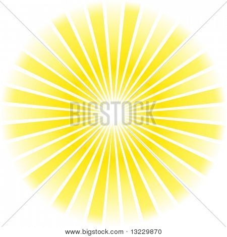 Sunburst abstract Vector.