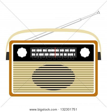 Radio retro. Vector concept illustration for design.
