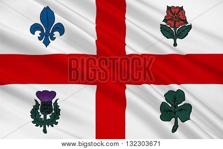 Flag of Montreal is the most populous city in the province of Quebec. It is the second most populous municipality in Canada after Toronto
