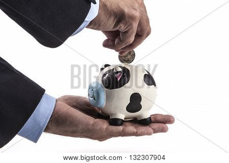 Hand And Coin
