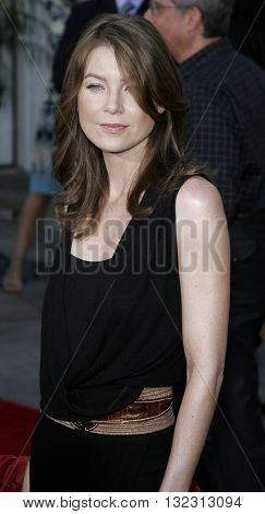 Ellen Pompeo at the Los Angeles premiere of 'The Bourne Ultimatum' held at the ArcLight Cinemas in Hollywood, USA on July 25, 2007.
