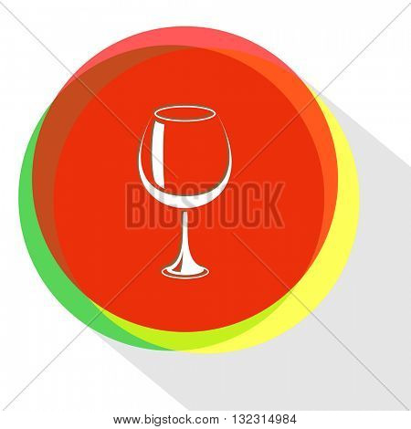 goblet. Internet template. Vector icon.