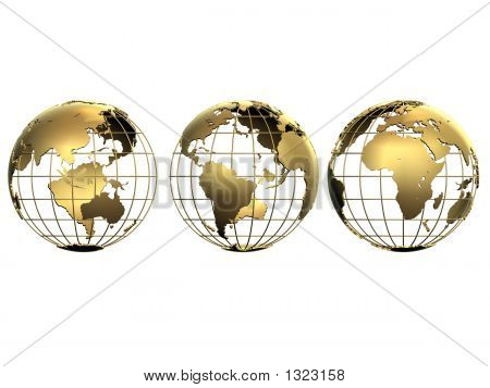 Three Golden Globes