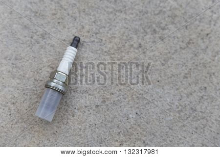 Old Spark Plug Of Car