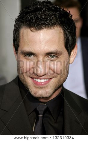 Edgar Ramirez at the Los Angeles premiere of 'The Bourne Ultimatum' held at the ArcLight Cinemas in Hollywood, USA on July 25, 2007.