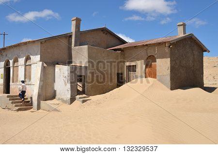 Kolmanskop In Namibia