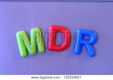 Colored Magnetic Letters
