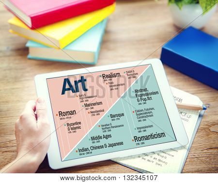 Art Abstract Creation Expression Imagination Concept
