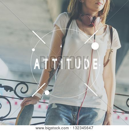 Attitude Perspective Thinking Ideas Opinion Reaction Concept