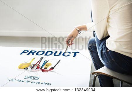 Product Creativity Craft Instrument Work Concept