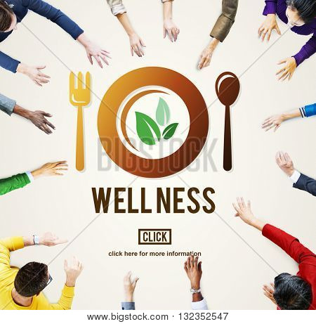 Wellness Wellbeing Health Health Lifestyle Concept