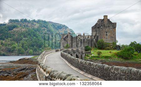 Eilean Donan Castle, Highlands, Scotland. UK