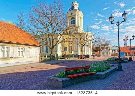 Lutheran Saint Nicholas Church In Ventspils