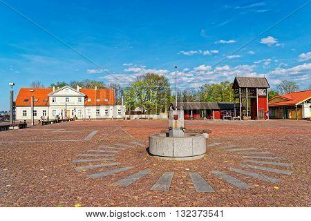Market Square Of Ventspils