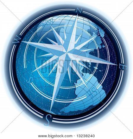 Windrose Globe