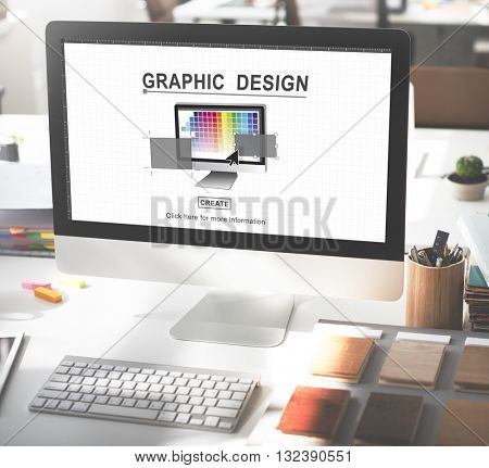 Graphic Design Draw Drawing Creative Concept