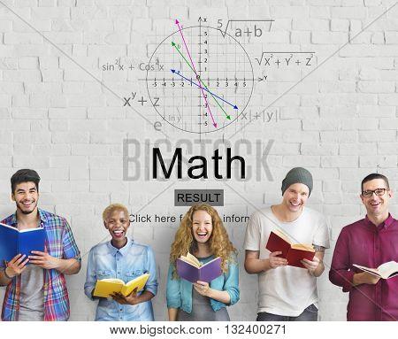 Math Mathematic Education Knowledge School Concept