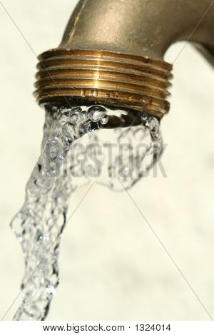 Running Tap Water