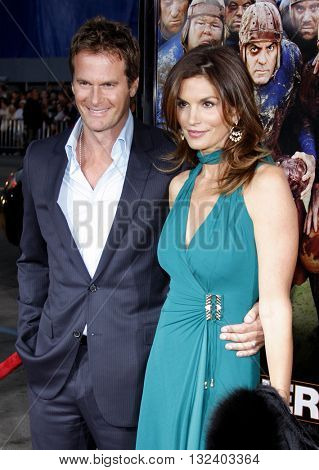 Rande Gerber and Cindy Crawford at the World premiere of 'Leatherheads' held at the Grauman's Chinese Theater in Hollywood, USA on March 31, 2008.