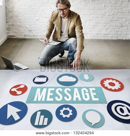 Message Bulletin Concept
