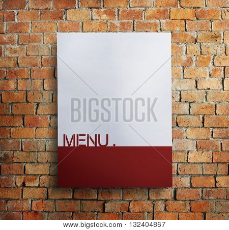 Menu Choice Selection Information Cafe Concept