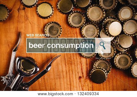 Beer consumption - web search on the internet