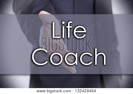 Life Coach - Business Concept With Text