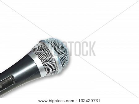 Microphone isolated for background work or dicuting