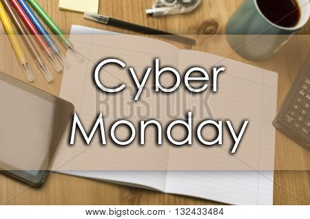 Cyber Monday - Business Concept With Text