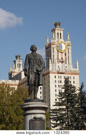Monument To Mikhail Lomonosov