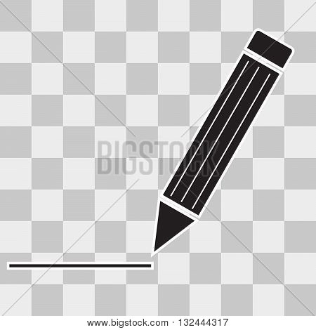 Vector Pen Icon Flat Pen Icon App Pen Icon Web Pen Icon Art Pen Icon Pen Icon Object Pen Icon Flat Pen Icon UI on transparent background