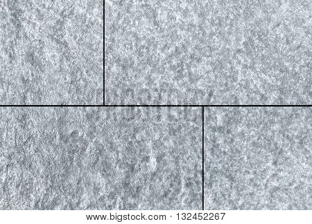 White natural sand stone tile wall seamless background and texture