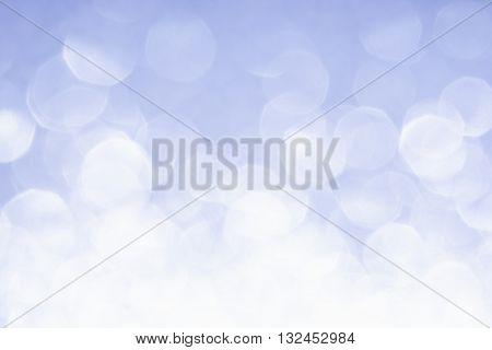 Abstract blurred background. Blue background. Serenity color rose quartz color trend color background. Bokeh.