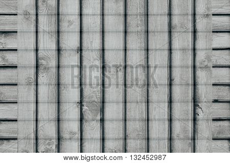 Abstract checkered background of the wooden planks. Plaid background. Abstract minimalistic pattern of lines. Grey background.