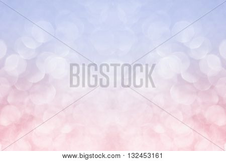 Abstract blurred background. Pink background. Rose quartz color serenity color trend color background. Bokeh.
