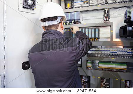 Closeup Man Worker
