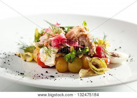 Salad Nicoise with Seared Tuna