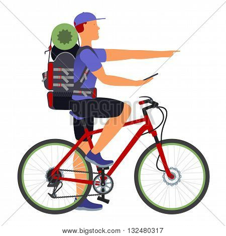 Bicycle Travel. Gps Navigator