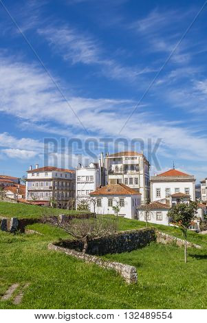 Fortified Wall And Houses In Valenca Do Minho