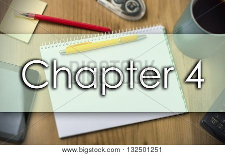 Chapter 4 -  Business Concept With Text